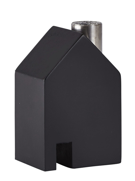 design kerzenleuchter haus holz leuchter kerzenst nder kerzenhalter massivholz ebay. Black Bedroom Furniture Sets. Home Design Ideas