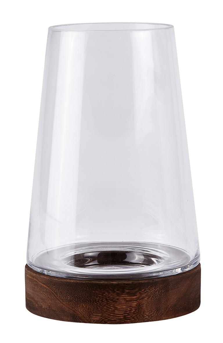windlicht hurricane laterne holz glas kerzenhalter gartenlaterne ebay. Black Bedroom Furniture Sets. Home Design Ideas