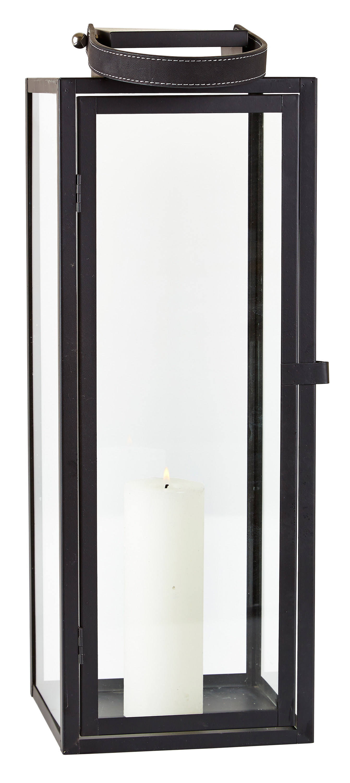 laterne edelstahl glas mit griff t r metall windlicht. Black Bedroom Furniture Sets. Home Design Ideas