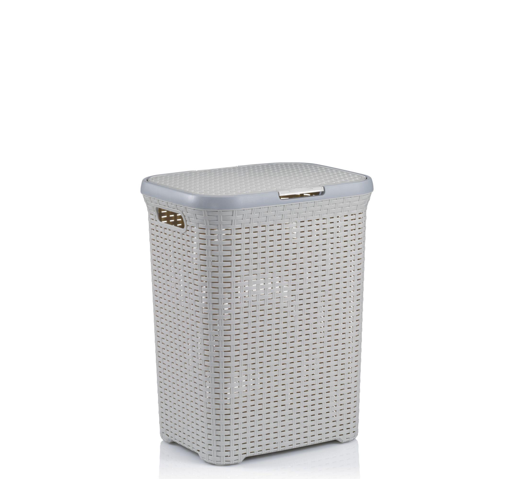 Kela Wäschebox RIO mit Deckel Kunststoff Wäschesammler Wäschetonne Wäschesack eBay