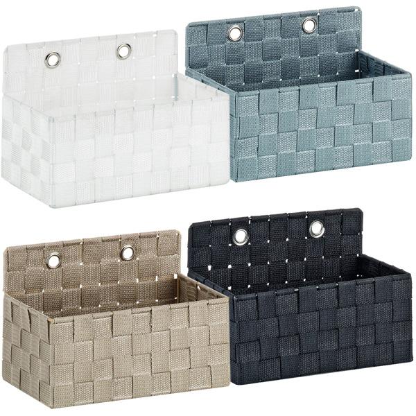 wandkorb duschkorb regalkorb ablage badkorb allzweckkorb wandregal h ngekorb ebay. Black Bedroom Furniture Sets. Home Design Ideas
