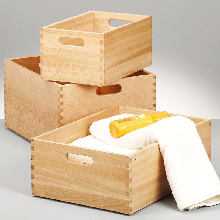 allzweckkiste buche holz holzkiste spielzeugkiste aufbwahrungsbox kiste truhe ebay. Black Bedroom Furniture Sets. Home Design Ideas