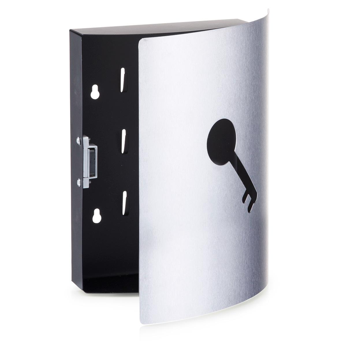 acciaio inox cassetta per le chiavi armadietto portachiavi. Black Bedroom Furniture Sets. Home Design Ideas