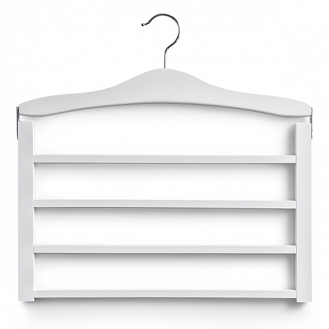 mehrfach hosenb gel wei holz raumsparb gel kleiderb gel. Black Bedroom Furniture Sets. Home Design Ideas