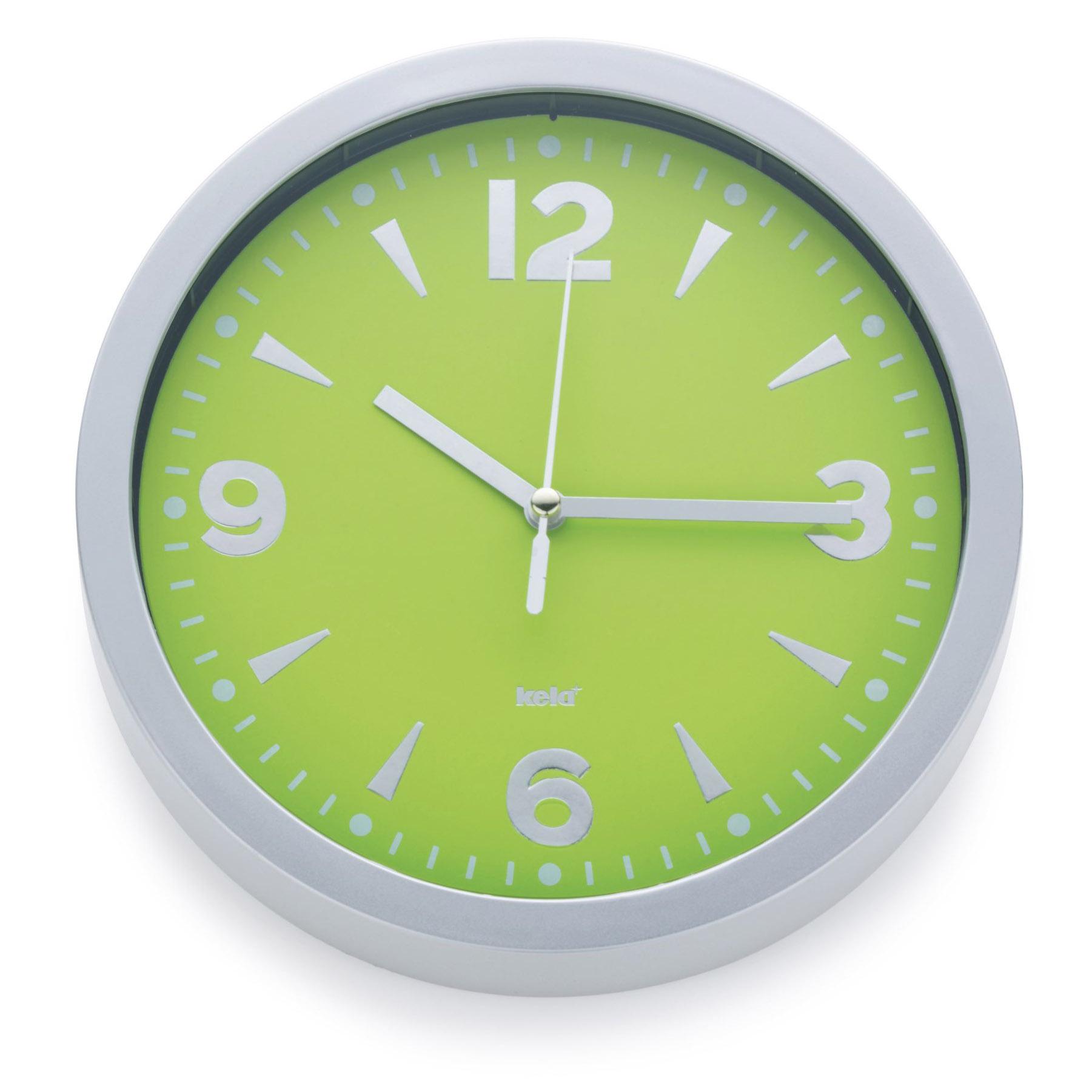 Kela Design Horloge Murale de Salle Bain Cuisine Gare Salon | eBay