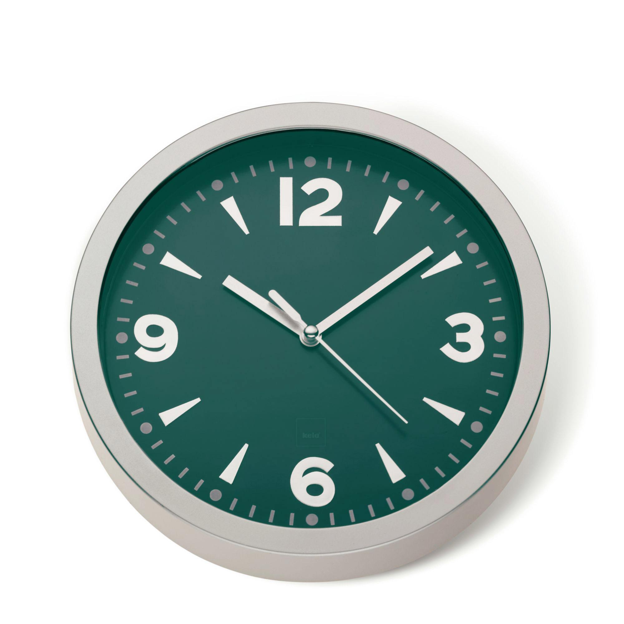 kela design orologio parete del bagno da cucina stazione
