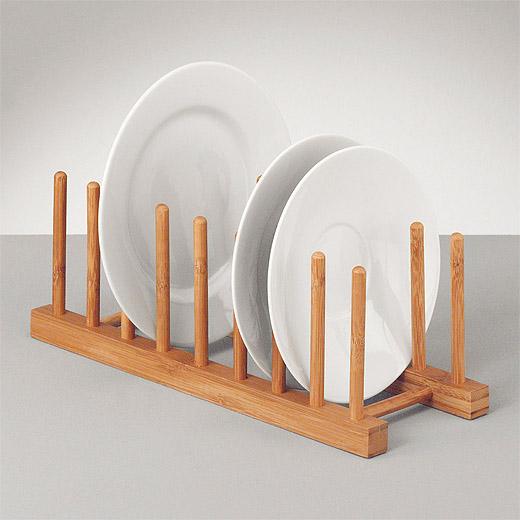 Fabulous Tellerständer Bambus Holz Geschirrständer Tellerhalter Geschirr SN06