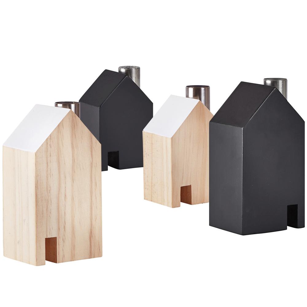 design kerzenleuchter haus holz leuchter kerzenst nder. Black Bedroom Furniture Sets. Home Design Ideas