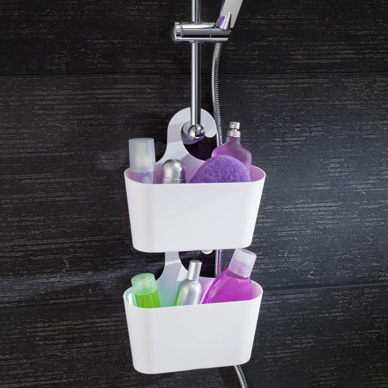 Cesto bagno mensola da bagno scaffale doccia portaoggetti - Portaoggetti bagno ...